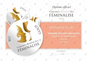 Concours Mondial des Feminalise-Chardonnay