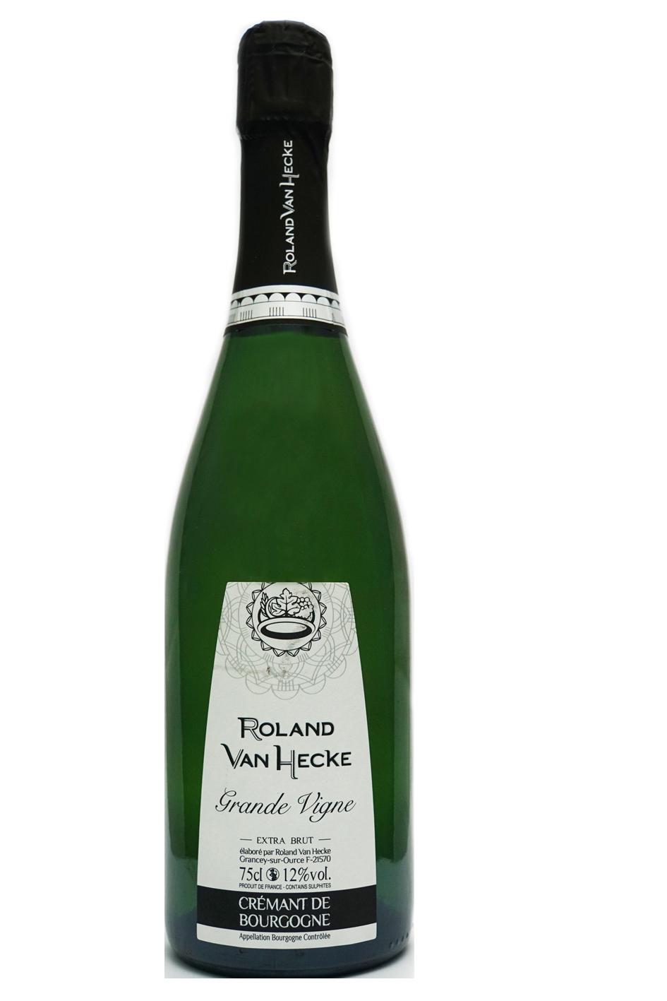 cuvée nouvelle Grande Vigne Extra-brut de roland van hecke crémants du chatillonnais bourgogne