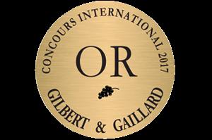 médaille d'Or 2017 Gilbert et Gaillard