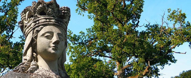 statue beauregard domaine van hecke producteur de crémant de bourgogne